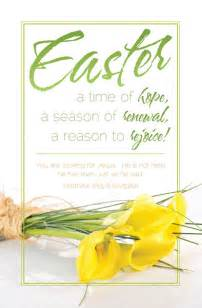 Easter church bulletins quotes