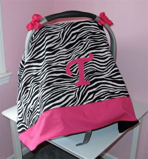 zebra print baby car seat covers personalized pink zebra print car seat canopy for