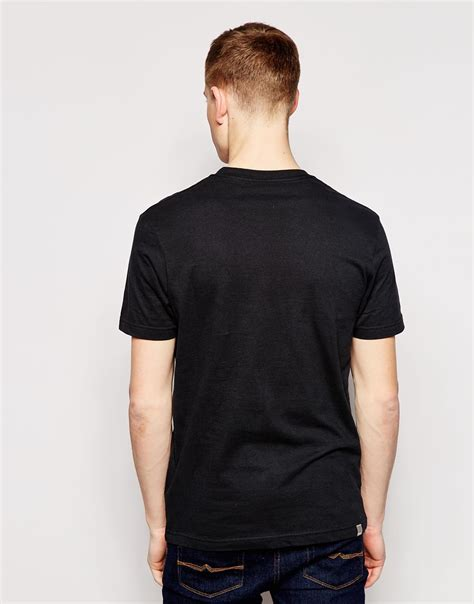 bench for men lyst bench logo t shirt in black for men