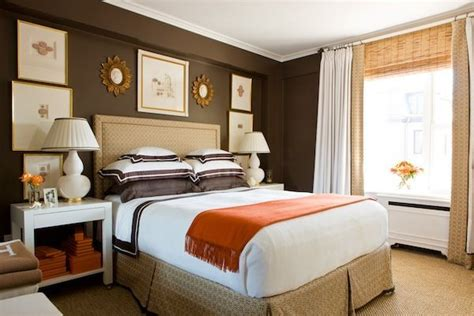 cream and orange bedroom 25 best ideas about chocolate brown walls on pinterest