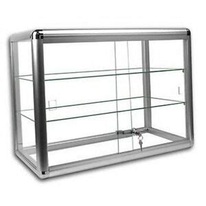 Countertop Showcase by Glass Showcase Display Cases Ebay