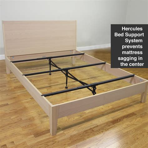 Wood Bed Frame Supports Classic Brands Hercules Bed Frame Support System Fits King And