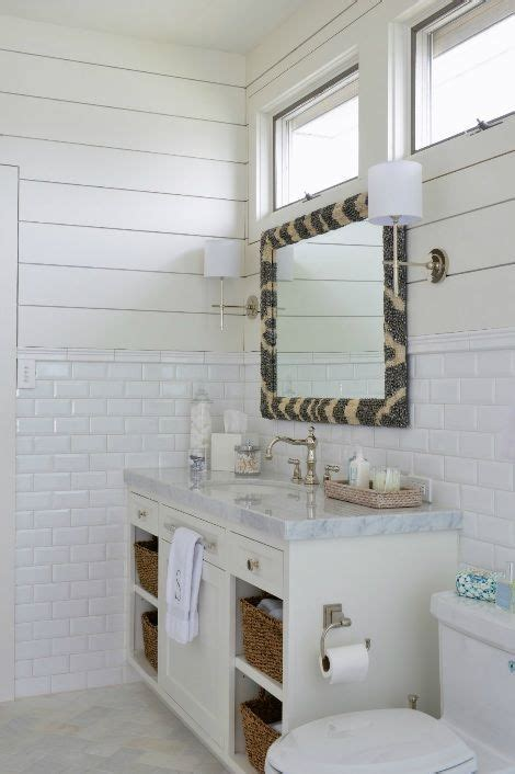 munger interiors bathrooms zebra mirror tongue