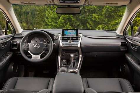 lexus nx 200t interior 2015 lexus nx 200t nx 300h drive photo gallery