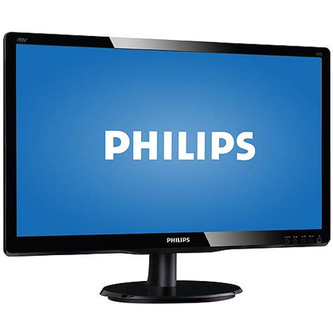Monitor Lcd Philips 160ei by Philips 19 Quot Widescreen Lcd Monitor 190v4lsb Walmart