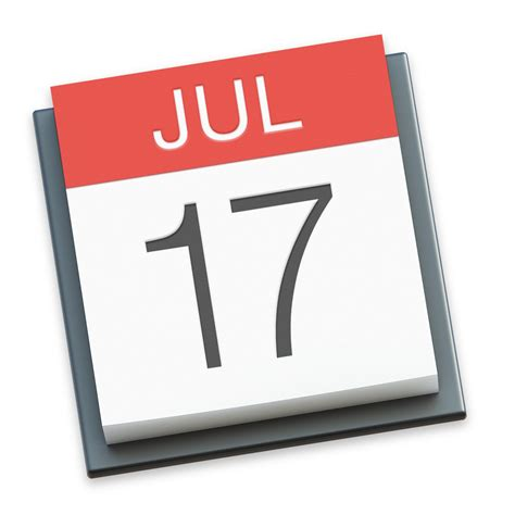 Calendar Apple Datei Apple Calendar Icon Png