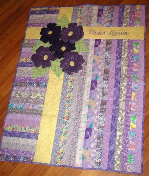 Violet Quilt by Stitchnquilt Violet S Quilt