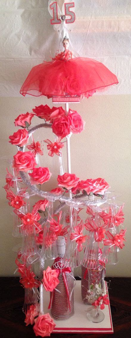 quinceanera themes ideas coral coral rose brindis set miami coral quinceanera