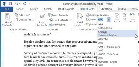 how to add citations and references in microsoft word