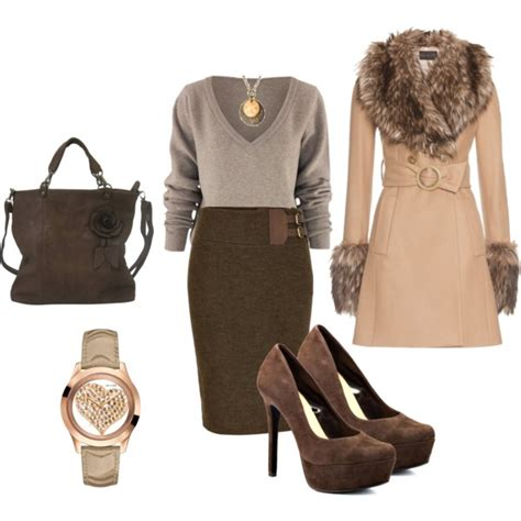 fall formal outfits polyvore combos  business women