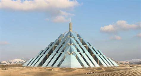 Ochai De Carbon Neutral Rufflets Hotel Goes Green by Ziggurat Pyramid Dubai Tower Of Babel