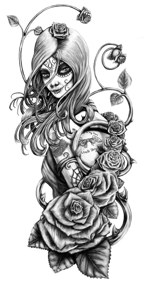 calavera design by el be on deviantart
