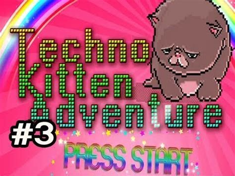 techno kitten adventure indie game w nova 3 cloud pack youtube