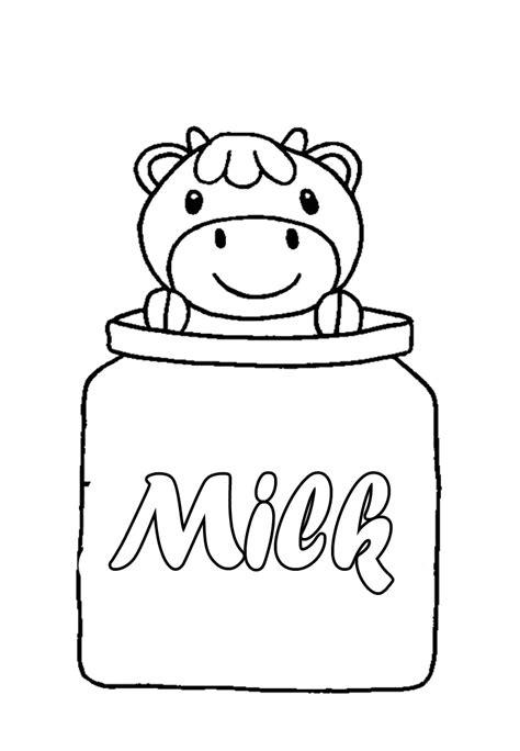 milk carton coloring page az coloring pages