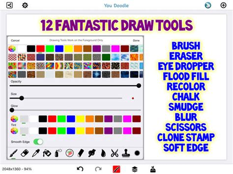 how to use you doodle plus you doodle plus draw on photos with fully unlocked