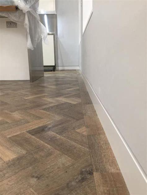 amtico herringbone flooring  premises flooring