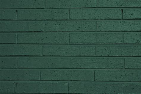 green painted walls green painted brick wall texture picture free photograph