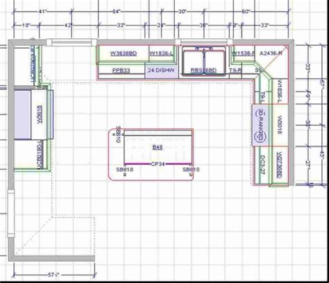 Kitchen Plans With Island | 15x15 kitchen layout with island brilliant kitchen floor