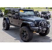 For Sale 2013 Custom Black Jeep Wrangler Unlimited Rubicon