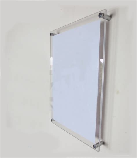 Acrylic Frame Poster compare prices on acrylic photo frames wall mount