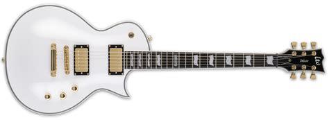 Esp Guitar Set esp guitars ltd ec 1000t set neck w dimarzio snow white mcquade musical