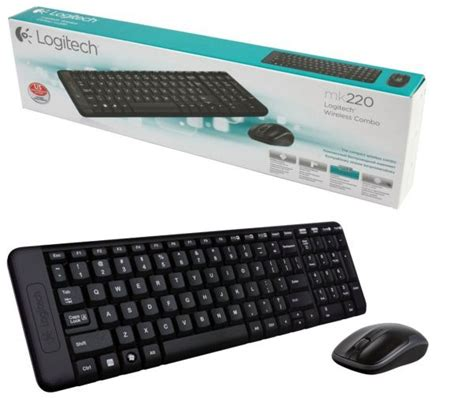 Logitech Keyboard Wireless Mouse Wireless Combo Mk220 souq logitech wireless combo mk220 with keyboard and