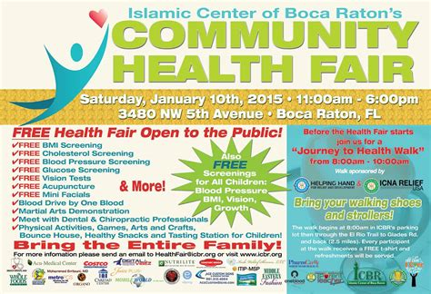 Health Fair Flyer Template Yourweek 4aa442eca25e Community Health Fair Flyer Template
