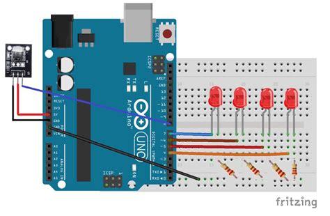 arduino tutorial ir sensor how to control leds with an arduino and ir sensor