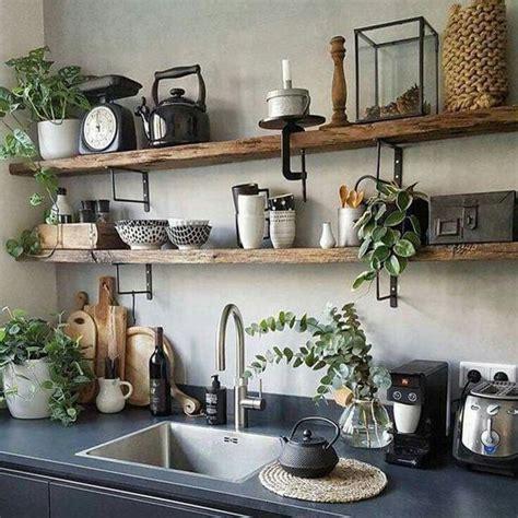 beautiful wooden shelves  modern kitchens simplified