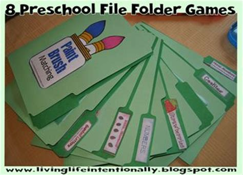 17 best ideas about file folder games on pinterest