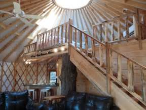 Floor Plans For Round Homes Cliffside Luxury Yurt In Cliffview Resort Red River