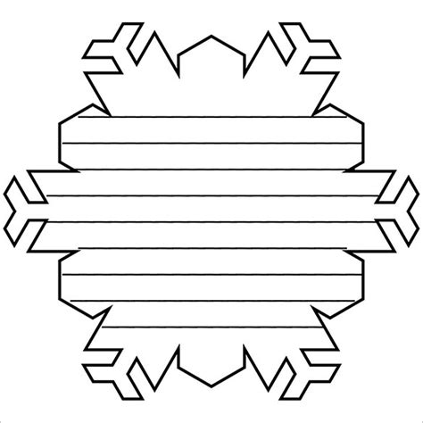snowflake outline printable www pixshark com images