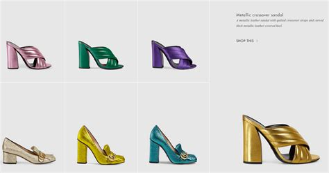 shoe website gucci unveils redesigned website photos footwear news