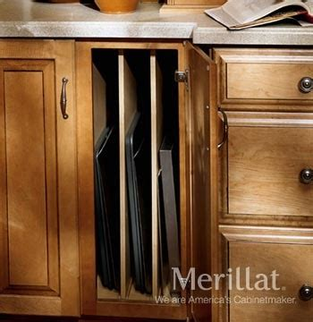 tray dividers for kitchen cabinets merillat masterpiece 174 base tray divider cabinet merillat