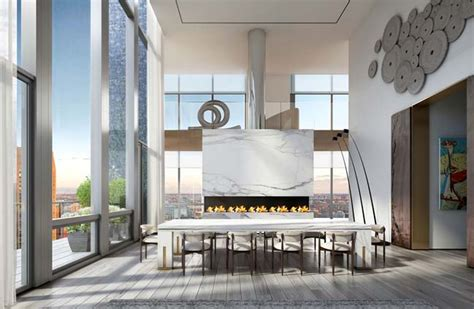 luxury penthouse in new york by oda architecture