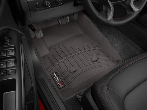 weathertech floor mats floorliner for gmc canyon 2015 2017 cocoa 1st row ebay