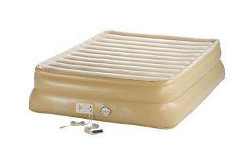 aerobed 20 raised smart airbed with built in 49 form 159 88