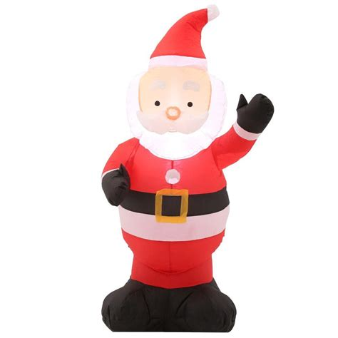 home accents 42 in h outdoor santa