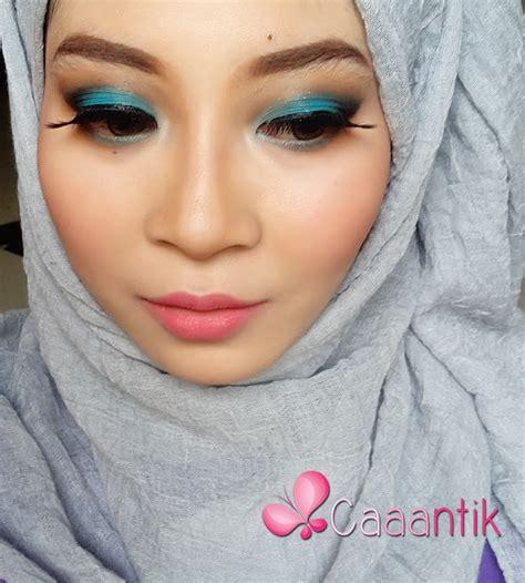 makeup tutorial blue smokey eyes