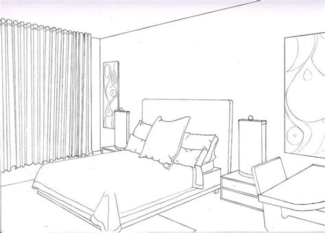 interior perspective of a bedroom 36 best perspective drawings bedroom images on pinterest perspective drawing drawing