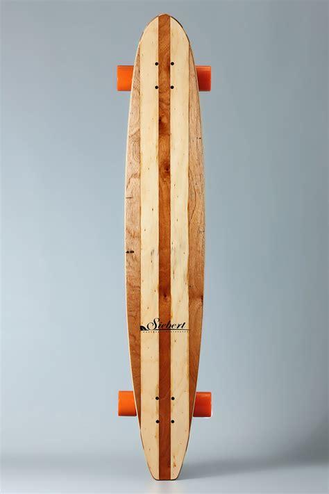 skate longboard  siebert woodcraft surfboards australia