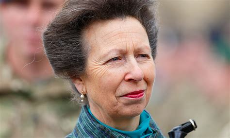 hair stylist anne prince princess anne comforts andrew parker bowles at funeral of