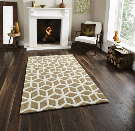 100 acrylic large floor rug geometric design