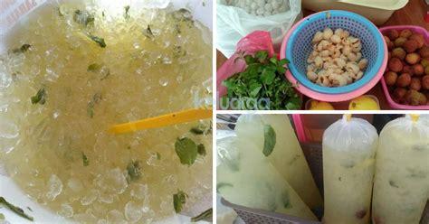 tak perlu beli  bazar  resipi lemon air pudina ais