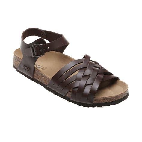 Sandal Wanita Sandal Flat Wanita Branded Cortica Gaga Brown jual cortica oxna cw 3004 brown sandal wanita
