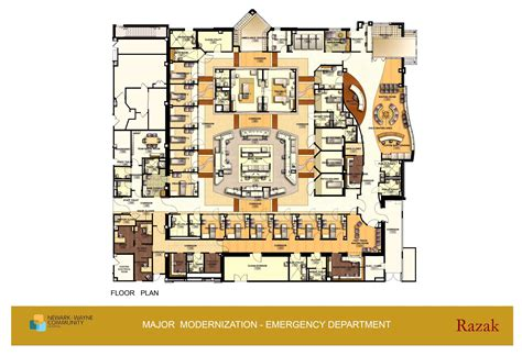 emergency room floor plan hospital emergency department floor plan fast track and