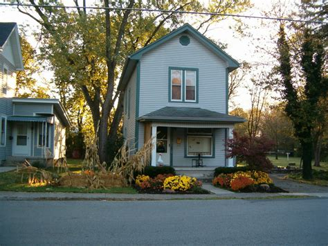 simple two story house small two story narrow lot house bethel oh narrow two story house 200 block of south