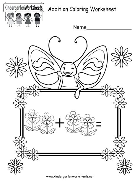 coloring pages for kindergarten math coloring pages kindergarten math addition coloring