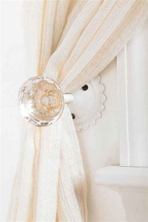 Door Knob Curtain Tie Backs by Door Knob Curtain Tie Back Outfitters