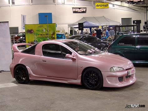 opel pink pin pink corsa on